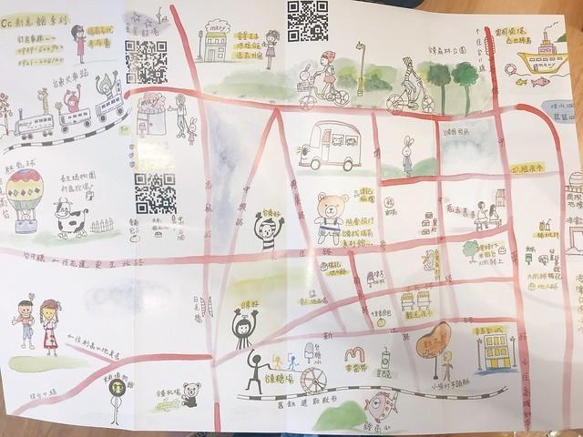 璞草行旅 單車地圖