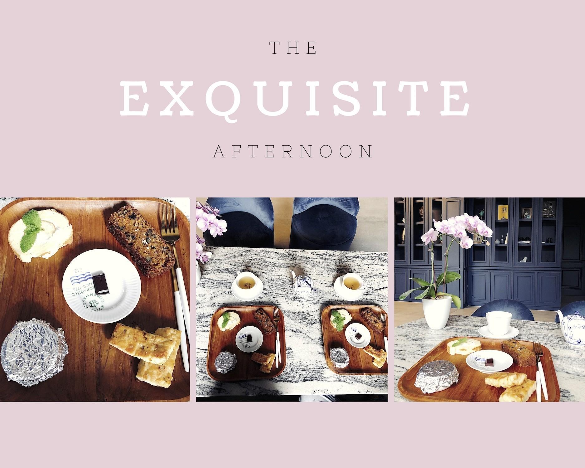 溫暖旅人身心與味蕾的 Olivia Boutique Hotel 下午茶