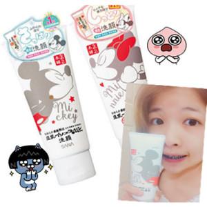 SANA日本限定【豆乳美肌洗面乳迪士尼包裝】試用分享