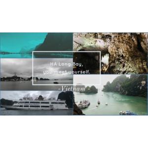 世界自然遺產 新世界七大美景。 北越下龍灣  金剛與007電影場景 驚嘆美景(上)