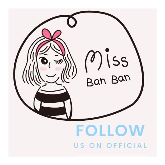missbanban日韓半半 似顏繪品牌圖像