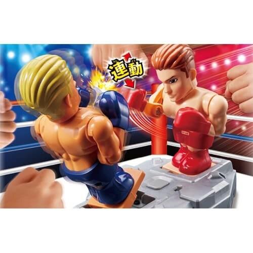 嗨翻全場的拳擊格鬥遊戲機|TAKARA TOMY 操作方式