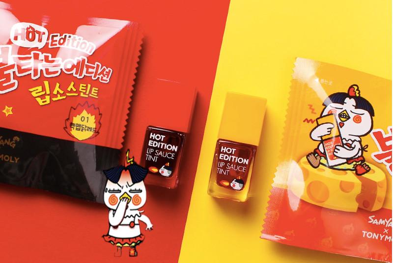 TONYMOLY X 三養SAMYANG 辣雞麵唇釉 Rip Sauce Tint