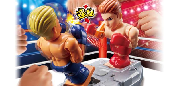 嗨翻全場的拳擊格鬥遊戲機|TAKARA TOMY