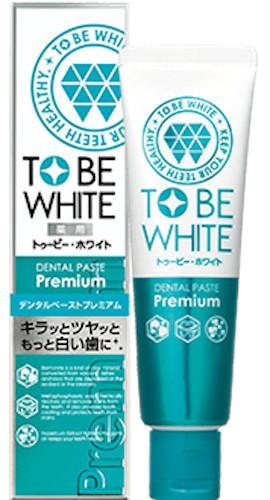 to be white 2倍瞬白精華清新牙膏