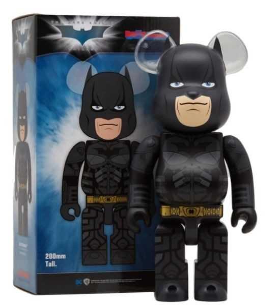 BEARBRICK BERBRICK 400 Dark Knight 黑暗騎士