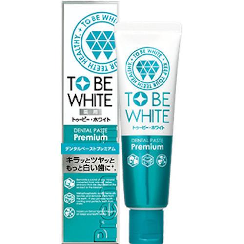 日本超推牙膏品牌【TO BE WHITE瞬白清新牙膏】三款選擇