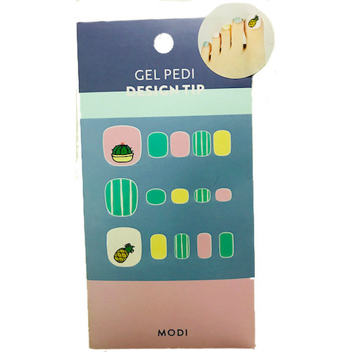 MODI Gel Pedi Design Tip 造型指甲貼紙
