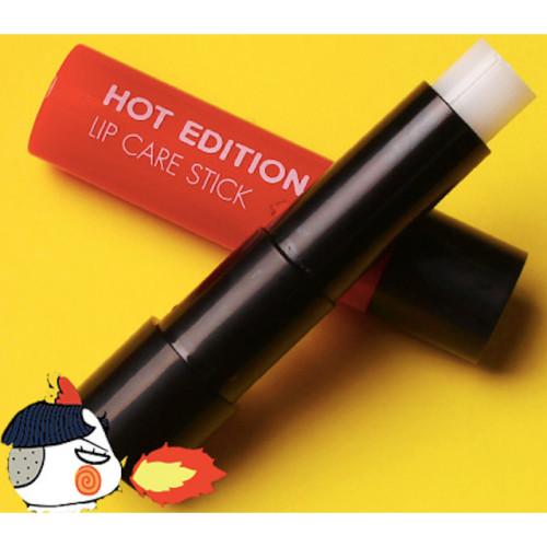 TONYMOLY X 三養SAMYANG聯名彩妝   辣雞麵護唇膏HOT EDITION LIP CARE STICK