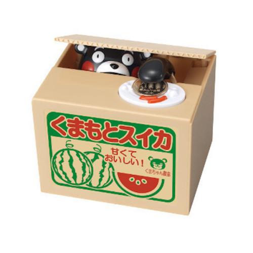 日本最萌吉祥物【熊本熊儲金箱存錢筒】