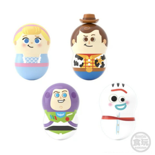 【限量預購】玩具總動員4 不倒翁與轉轉花生